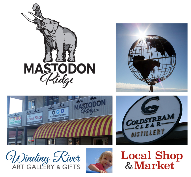 Mastodon Ridge Home page collage