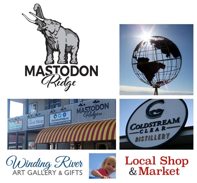 Mastodon Ridge Home page collage